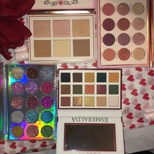 Beauty Creations Makeup - EYESHADOW  BUNDLE OF 4 PALETTE